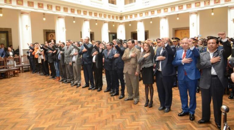 Ministros de estado preparan renuncia colectiva para este 22 de enero