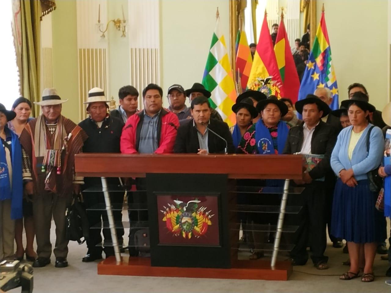 Organizaciones Sociales afines al MAS llevaran a cabo una concentración en Sucre para proclamar al binomio Evo – Álvaro