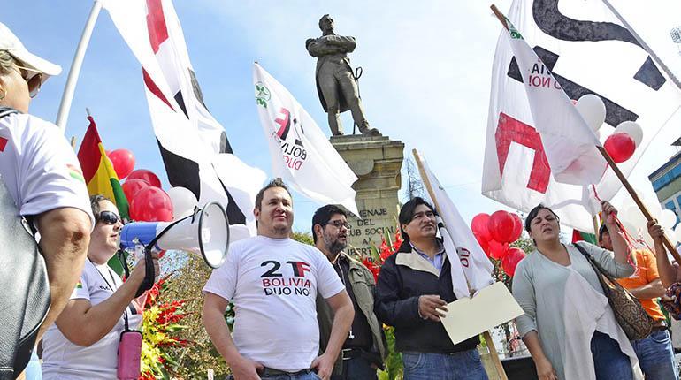 Plataformas del 21F piden a los partidos de oposición sumarse a la resistencia contra las elecciones primarias