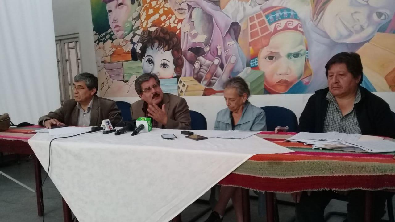CONADE convoca a organizaciones sociales a una marcha para el 21 de enero para exigir la renuncia de los vocales del TSE