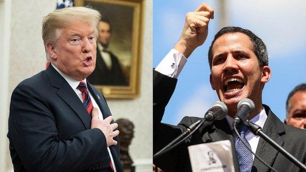 Trump reconoce a Juan Guaidó como presidente interino de Venezuela