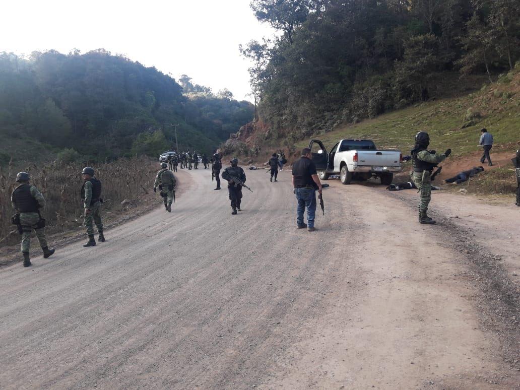 Enfrentamiento armado en la Montaña de Guerrero dejó 10 muertos y 2 heridos