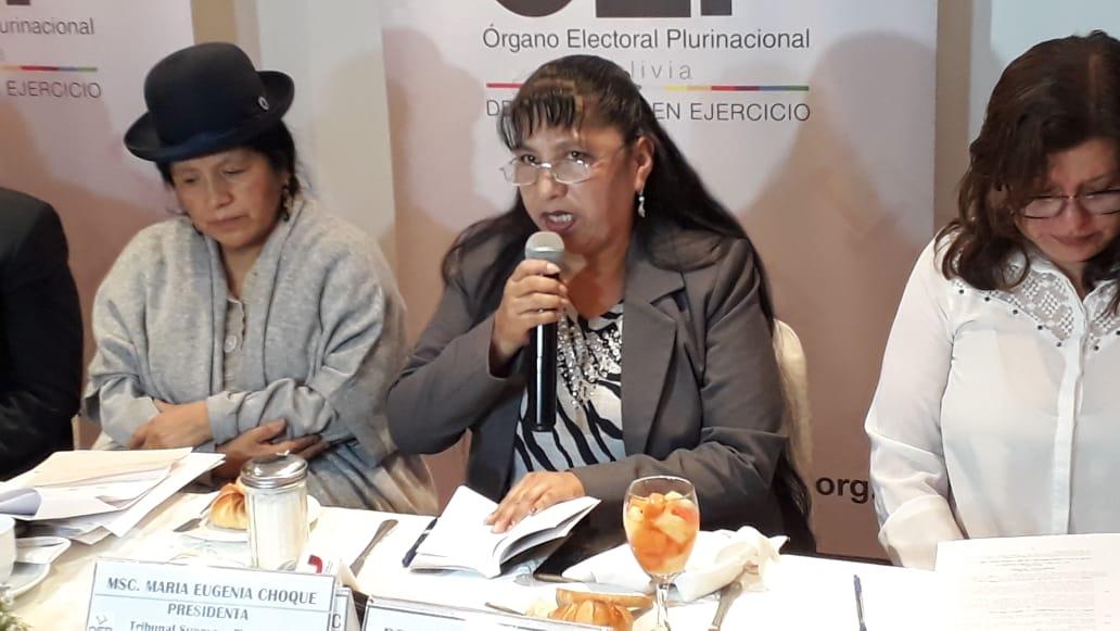 Vocal Cruz del TSE asegura que no es conveniente que la oposición convoque a los militantes a no votar en las primarias