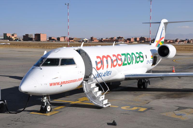 Amazonas se suma a los vuelos solidarios en el norte de La Paz y el Beni