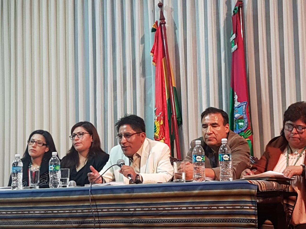Gobernación de La Paz se reunirá con el Ministerio de Salud para tratar el convenio del SUS