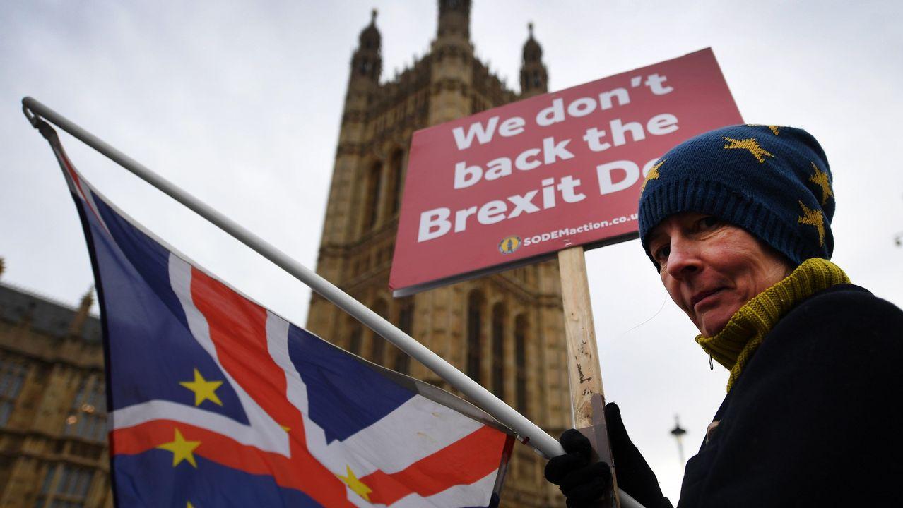 La UE acuerda darán libre visado a todos los ciudadanos británicos aún sin acuerdo de Brexit