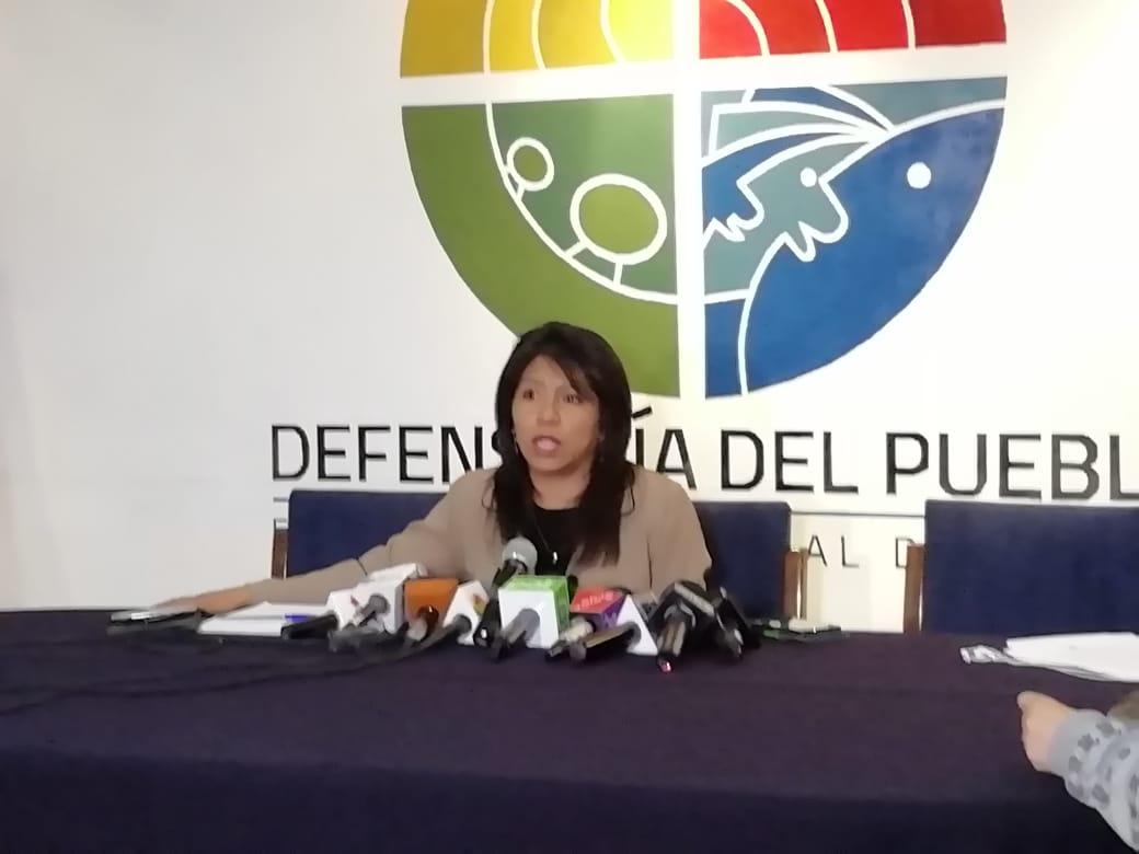 Nadia Cruz asegura que como defensora del pueblo cumplirá su compromiso con los derechos humano