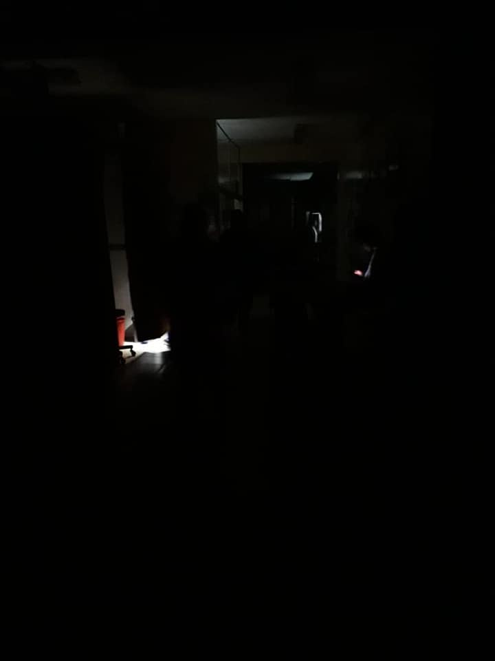 El hospital del Niño y de la Mujer se quedaron más de media hora sin energía eléctrica