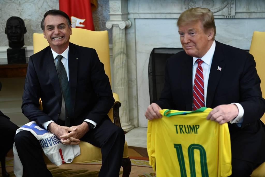 Jair Bolsonaro asegura que Trump apoyará la entrada de Brasil a la OTAN