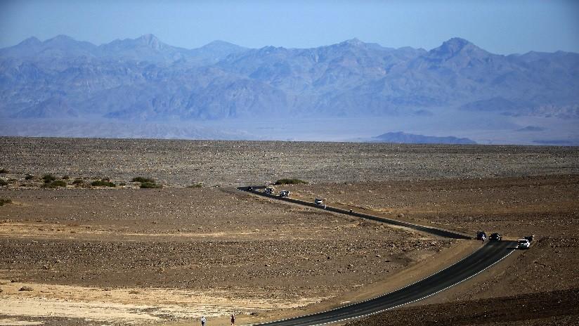 Lago aparece en el Valle de la Muerte, el desierto más seco de las Américas