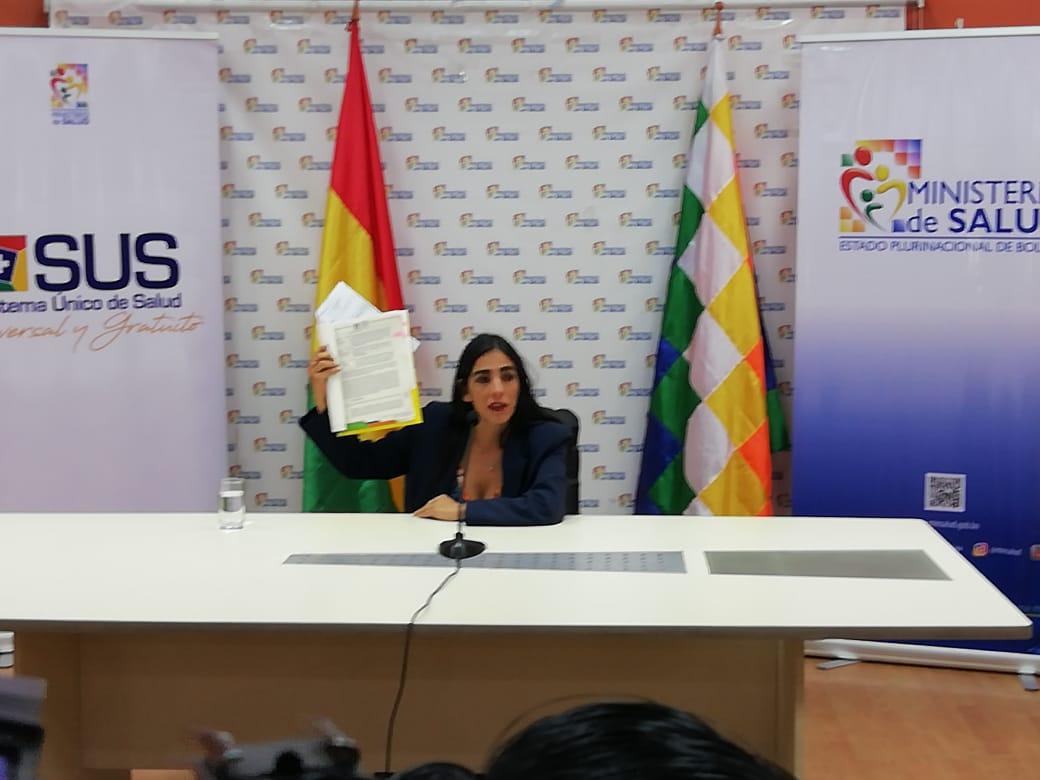 Ministerio de Salud asegura que el convenio del SUS no vulnera la ley de autonomías