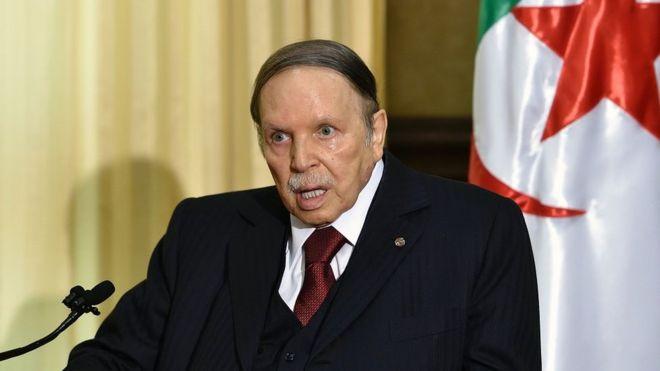 Presidente de Argelia, quien no habló en público desde hace 6 años, busca su reelección
