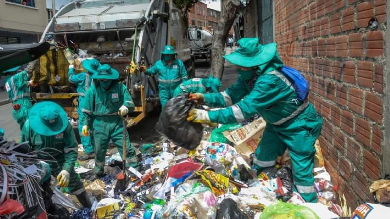 Vecinos de Mallasa rechazan la instalación de un relleno sanitario en Mecapaca
