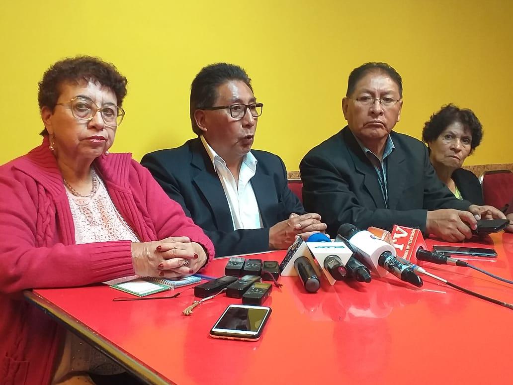 Jubilados anuncian movilización para mañana en la ciudad de La Paz