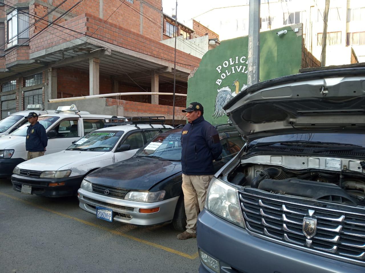 DIPROVE recupera 9 vehículos y 7 motocicletas que fueron robadas en el transcurso de este año