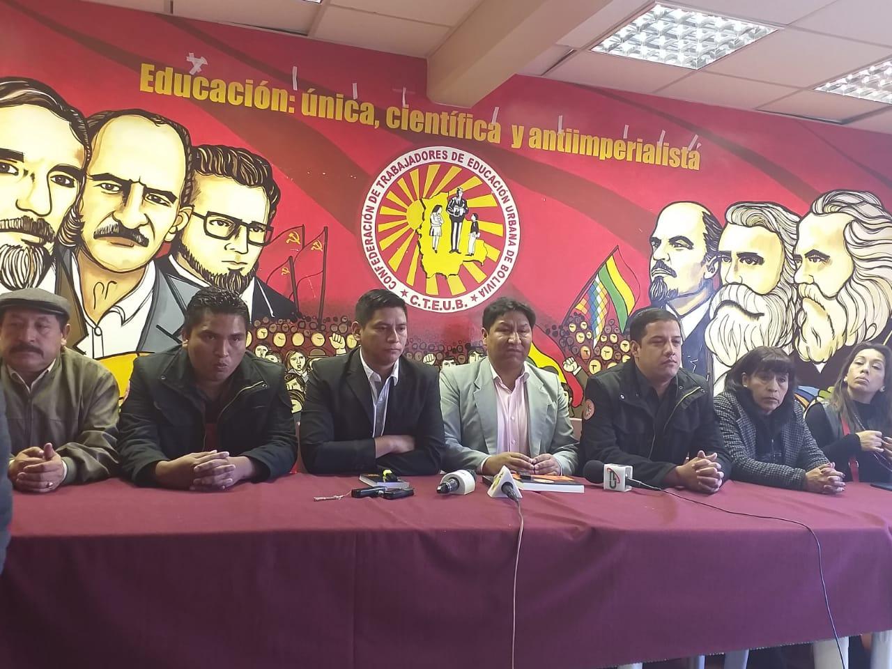 Magisterio Urbano anuncia marcha nacional para mañana en demanda de la nivelación de salario al área rural