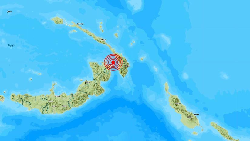 Sismo de 7.5 sacude a Papúa Nueva Guinea; activan alerta de tsunami