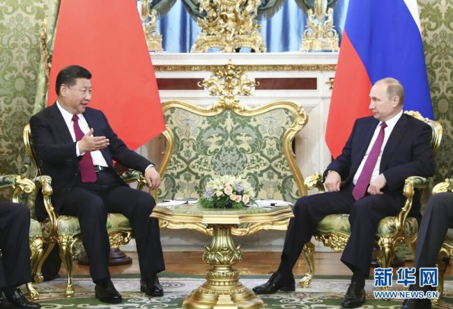 Xi Jinping visitó a Vladimir Putin para fortalecer lazos comerciales entre tensiones con EE. UU.