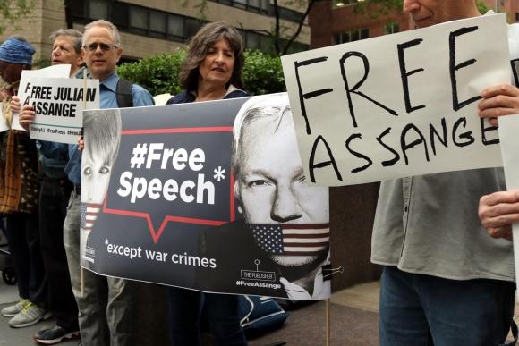Estados Unidos Solicita la extradición del fundador de Wikileaks al Reino Unido