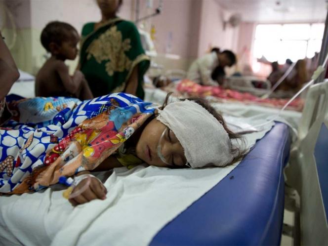 Fallecen 100 niños en India por Síndrome de Encefalitis Aguda