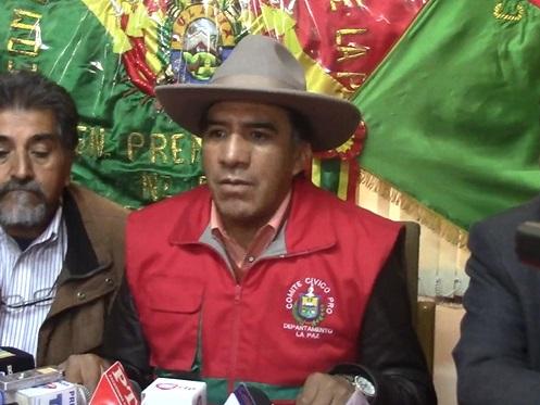 Achocalla y Comité Cívico Departamental anuncian inspección al relleno sanitario de Alpacoma