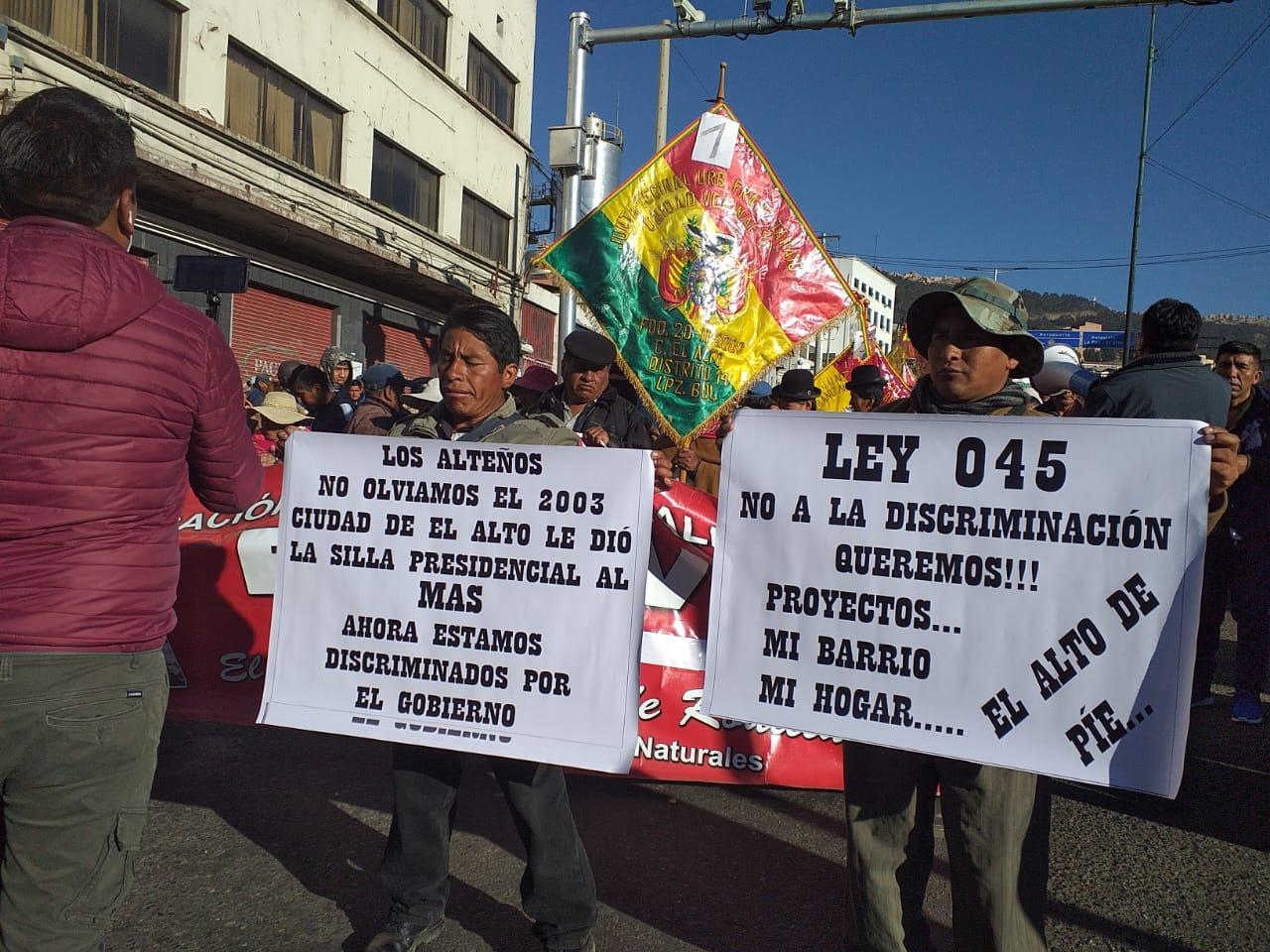 """FEJUVE se moviliza para denunciar que el Gobierno rechazó 500 proyectos presentados para el programa «Mi barrio, Mi hogar"""""""