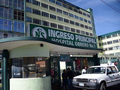 Hospital Obrero realiza paro de 24 horas por falta de medicamentos