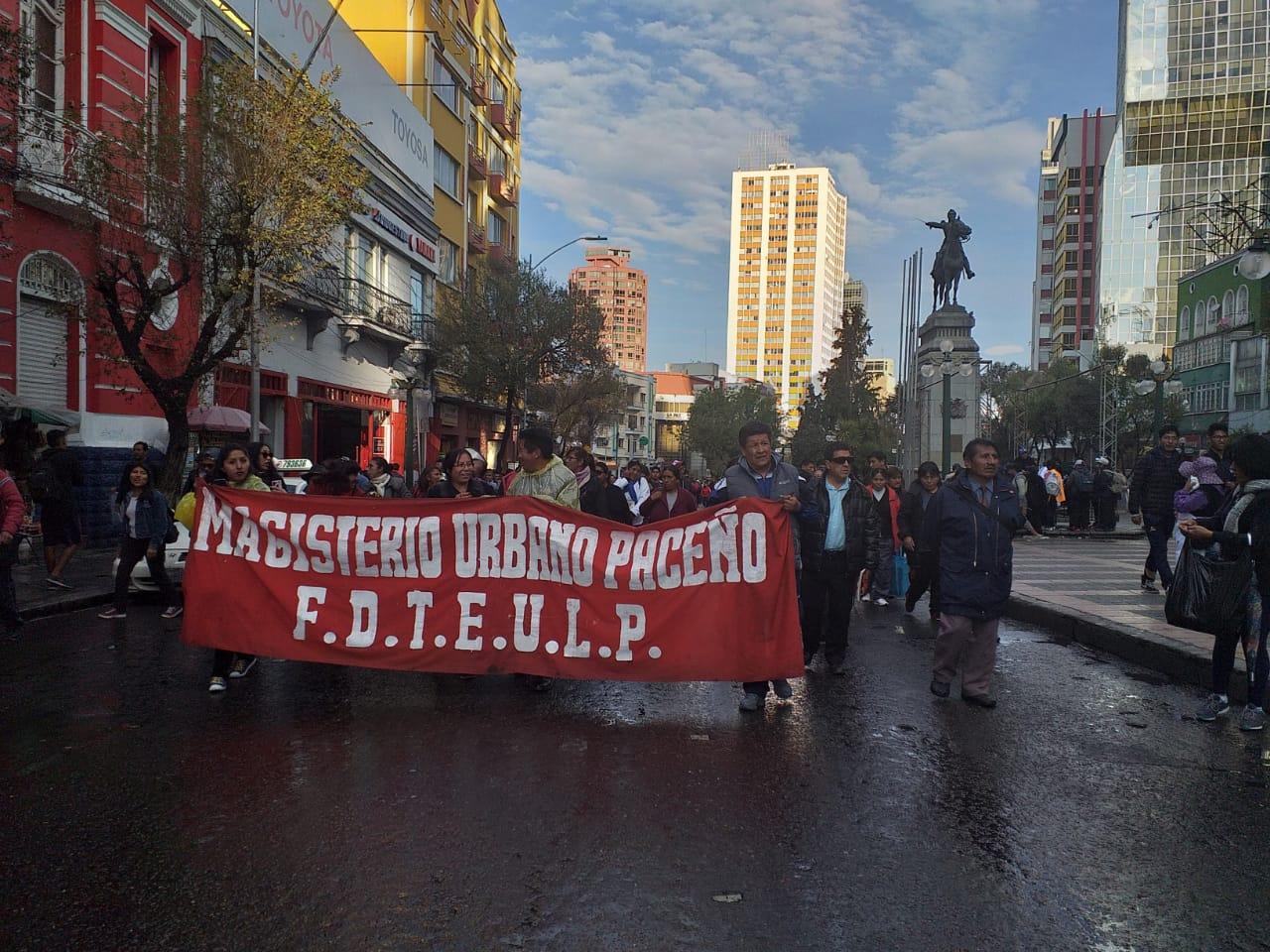 Maestros convocan a una marcha en rechazo a la resolución que declara profesión libre al Magisterio
