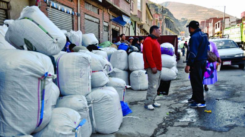 ADEPCOCA anuncia cerco al centro de acopio en Chuquiaguillo para impedir que dicho establecimiento venda coca