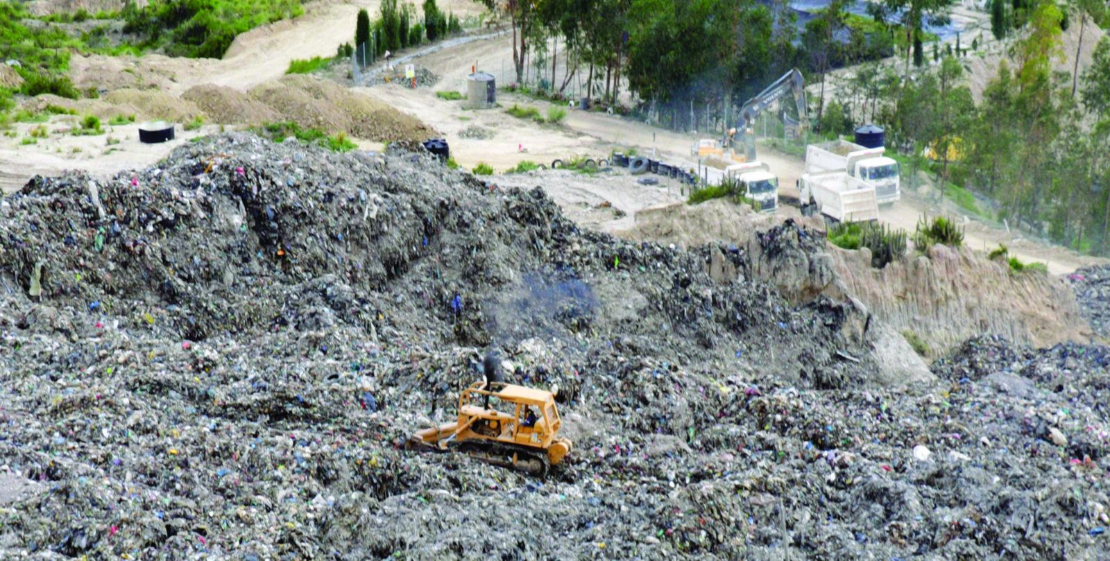 Alcaldía continúa esperando una licencia ambiental para el funcionamiento del nuevo relleno sanitario en Saka Churu