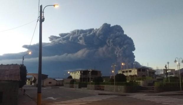 Asamblea Departamental pide declarar alerta roja en los municipios que fueron afectados por las cenizas del volcán Ubinas
