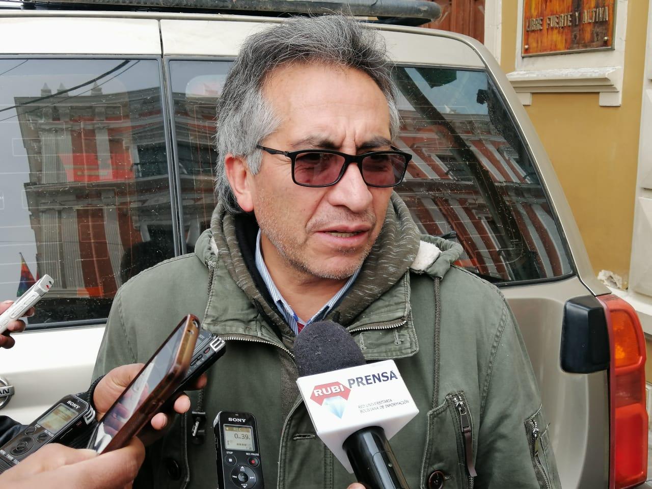 Asamblea de La Paz iniciará proceso legal contra Percy Fernández por realizar declaraciones discriminatorias