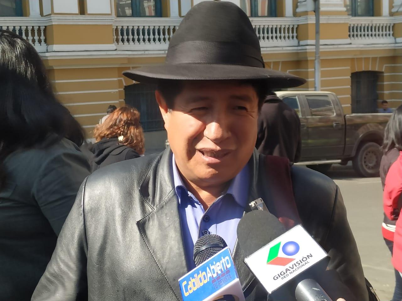 Bolivia Dice No propone a Rafael Quispe como candidato para la vicepresidencia