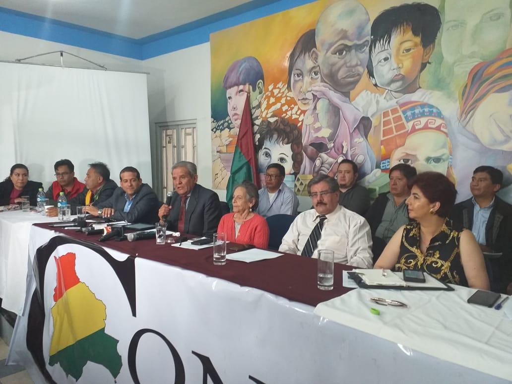 CONADE plantea realizar un paro de 24 horas en respaldo al paro cívico de Santa Cruz