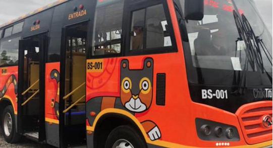 """Chóferes de transporte público rechazan el funcionamiento de los nuevos buses """"Chiki Titi"""""""