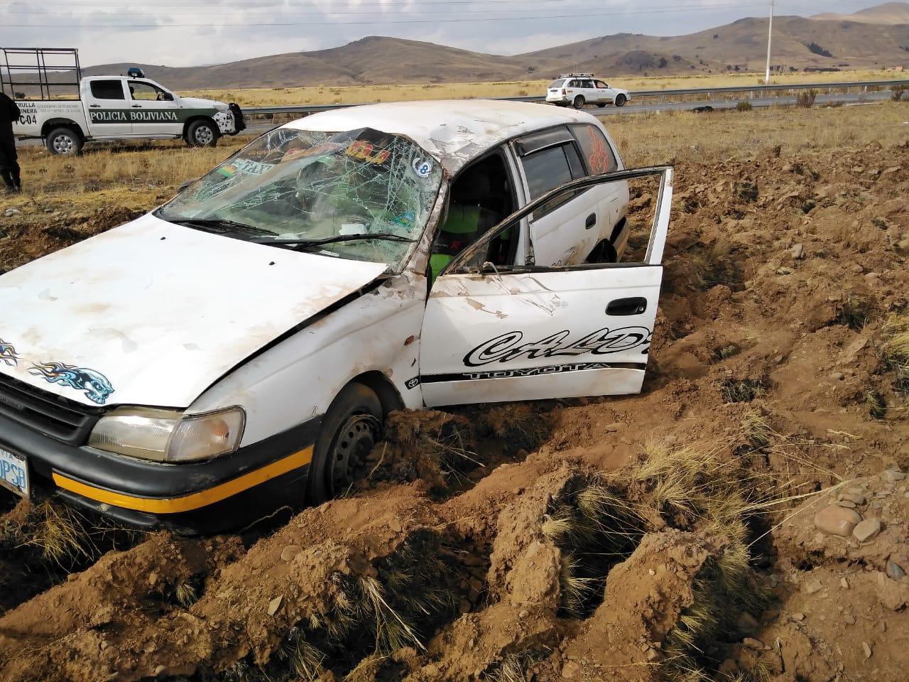 Dos accidentes de tránsito registrados por la policía durante este feriado