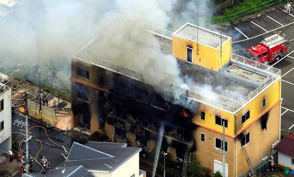 Al menos 33 muertos a causa de un incendio registrado en los estudios Kyoto Animation