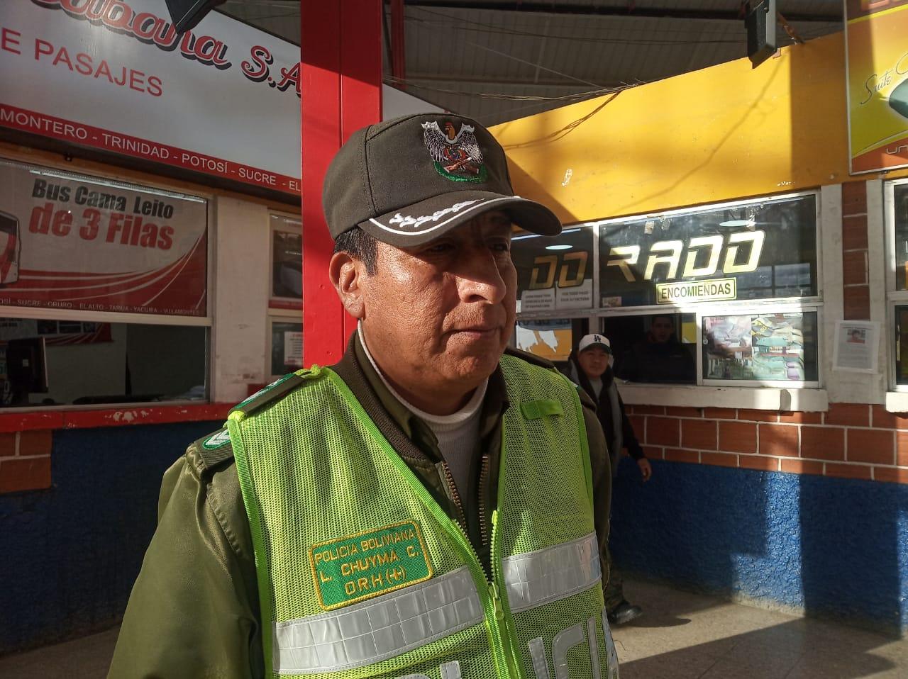 La terminal de buses de La Paz suspende sus salidas por las intensas nevadas