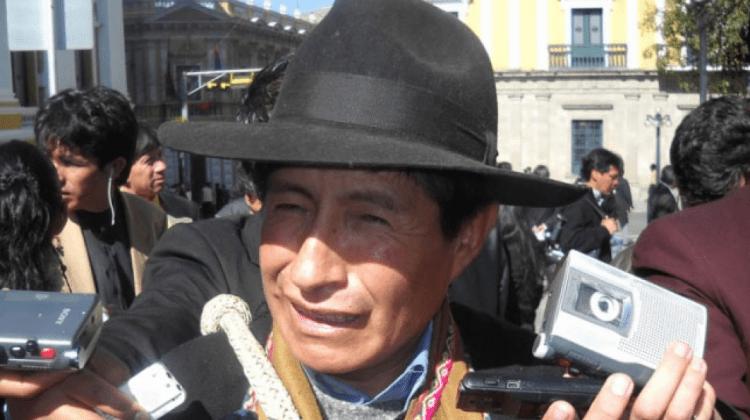 Quispe descarta reemplazar a Rodríguez tras su renuncia a su candidatura por la alianza de ´Bolivia dice no´
