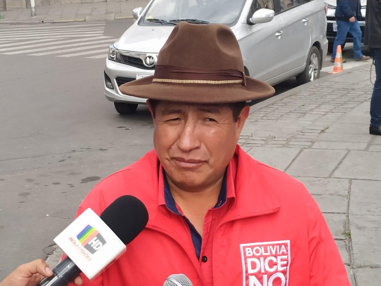 Rafael Quispe se perfila como posible acompañante de Ortiz por Bolivia Dice No