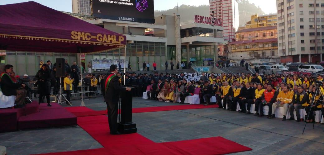 Revilla anuncia más de 200 actividades por el aniversario de La Paz