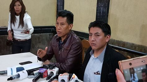 Rodríguez califica de traidores de la patria a Bolivia dice No por fraccionar el voto de la oposición