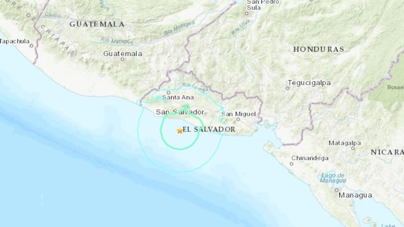 Sismo de 5,9 sacude la costa de El Salvador