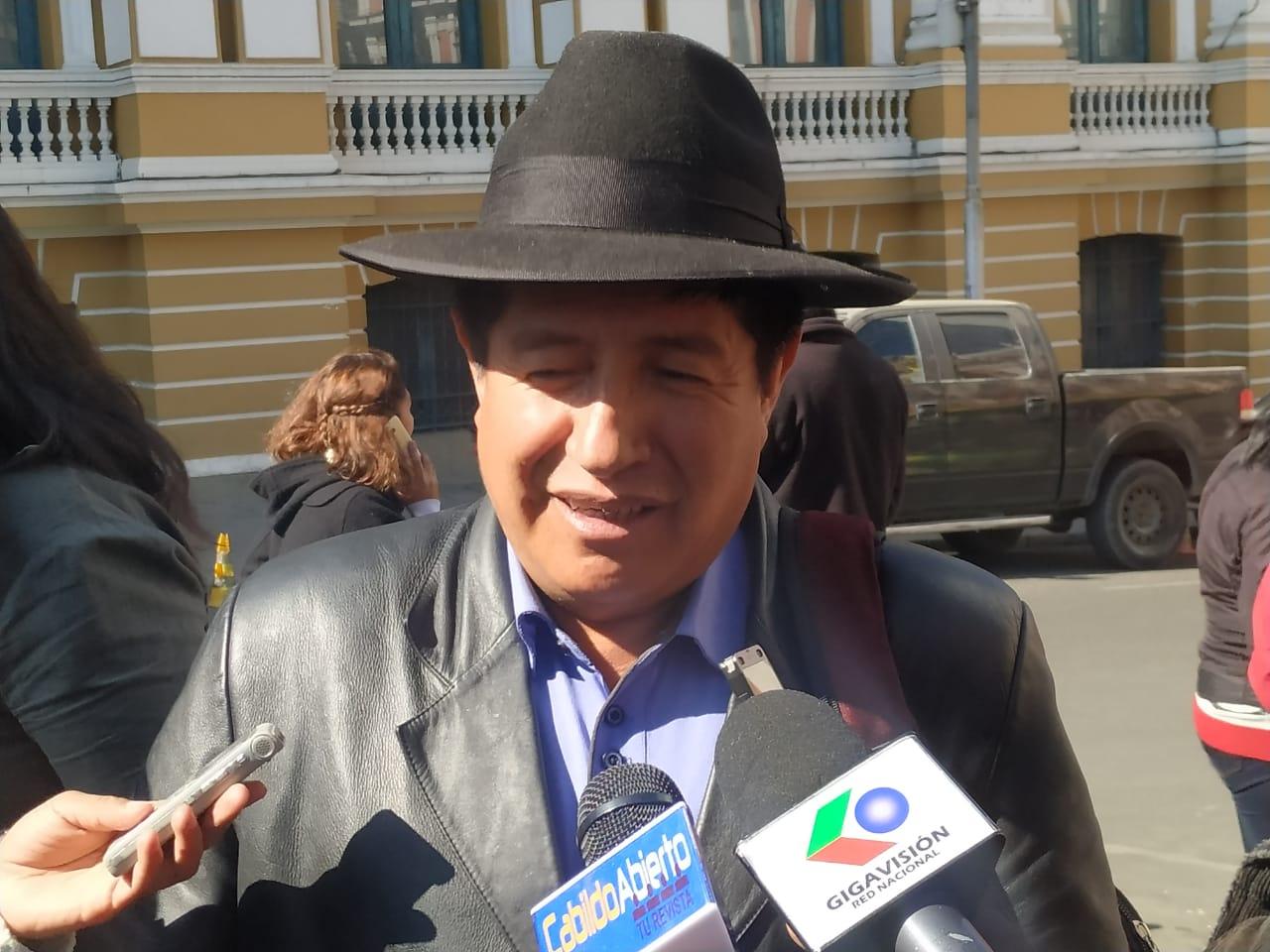"""Diputado Rafael Quispe: """"El Tribunal Electoral es una chacota"""""""