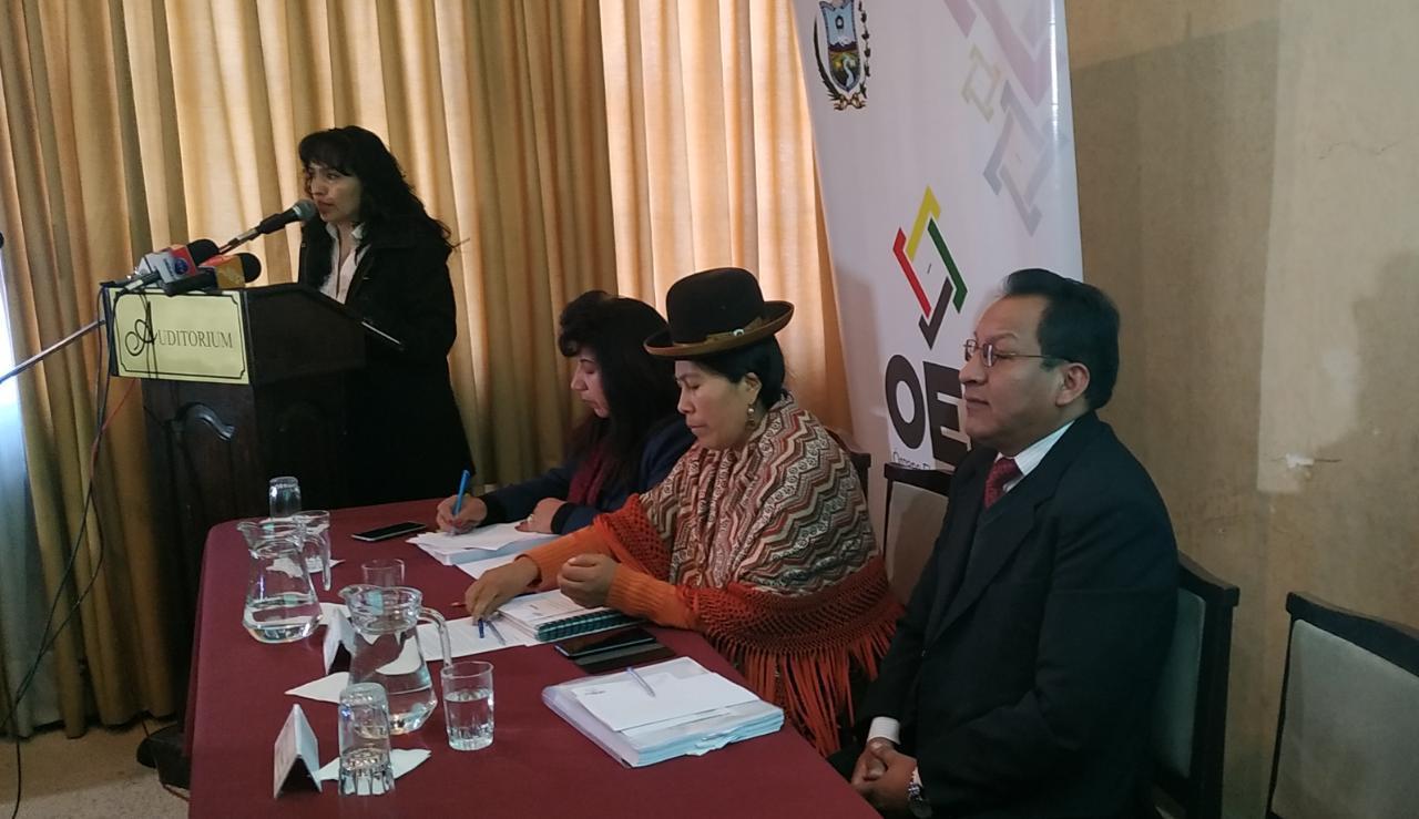 Presidenta del Tribunal Electoral Departamental anunció que las personas que no han emitido en dos elecciones consecutivas serán inhabilitadas.