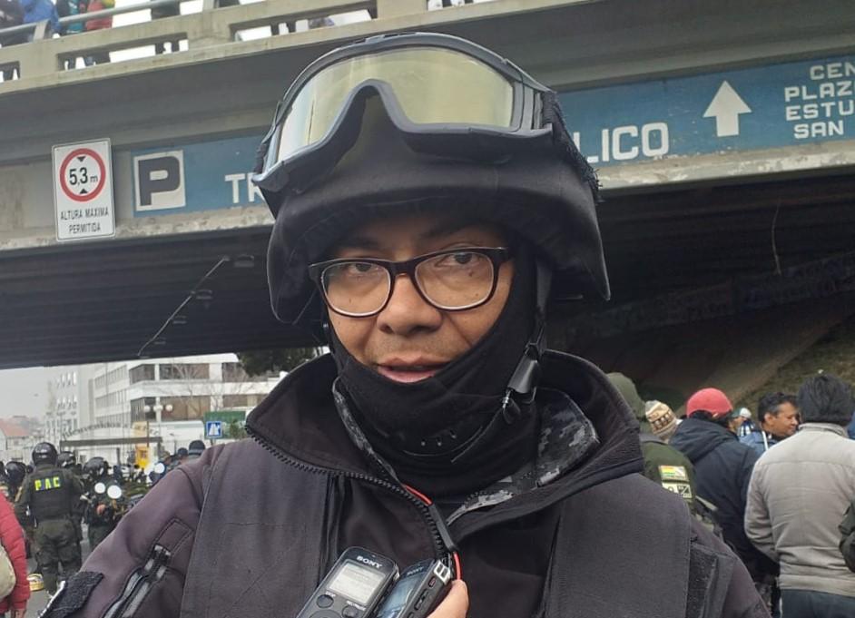 2.800 policías están desplegados en La Paz y la Zona Sur para evitar enfrentamientos
