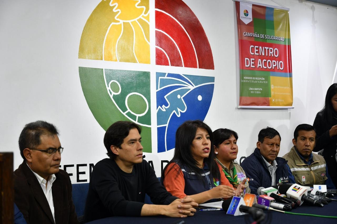 1.807 familias fueron afectadas por el incendio de la Chiquitanía