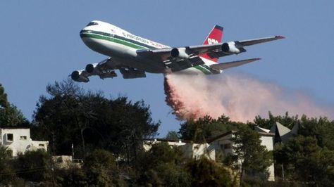 Supertanker llegará este viernes a Bolivia para apagar los incendios en San Rafael, Charagua y Puerto Bush