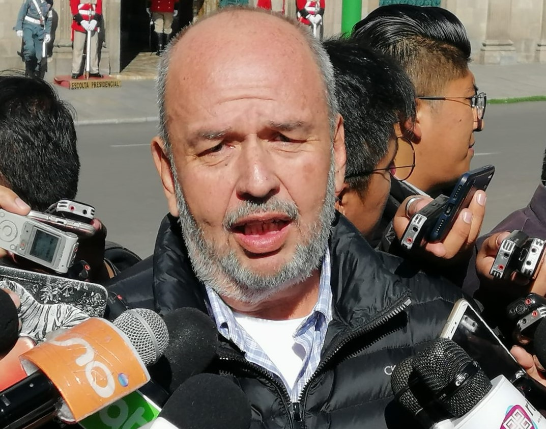 Murillo ve poco apoyo al paro cívico de hoy por falta de coordinación y el incendio en Santa Cruz