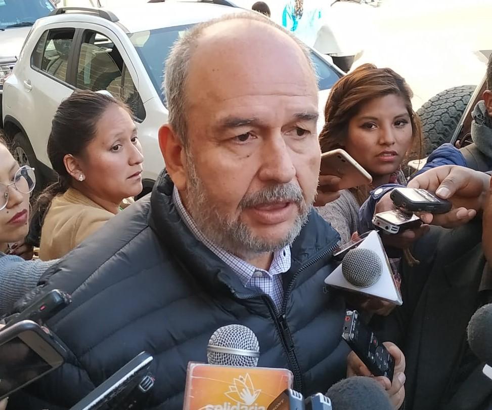Murillo pide al gobernador Félix Patzi hacer una disculpa pública a las mujeres por sus declaraciones
